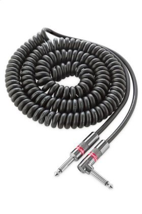 Prolink® Monster Classic Pro Audio Instrument Cable Coiled - 21 ft. / Black