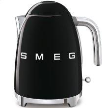 Smeg 50s Retro Style Design Aesthetic Electric Kettle, Black