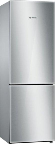 "800 Series 24"" Glass Door Counter-Depth Bottom Freezer B10CB80NVS 800 Series"