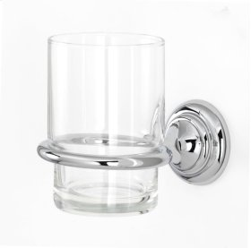 Charlie's Collection Tumbler Holder A6770 - Polished Chrome