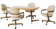 Table Base: Twin Legs (medium & bronze)