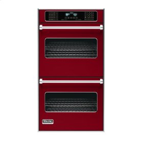 """Apple Red 27"""" Double Electric Touch Control Premiere Oven - VEDO (27"""" Wide Double Electric Touch Control Premiere Oven)"""