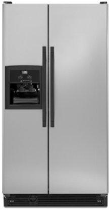 (TS25CGXTD) - 25 cu. ft. Side-by-Side Refrigerator