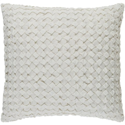 "Ashlar ALR-004 22"" x 22"" Pillow Shell with Down Insert"