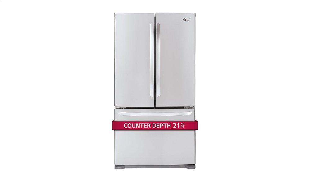 Lfc21776st Lg Appliances 21 Cu Ft French Door Counter Depth