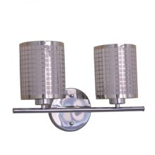 Summer Hill Collection Two Light Vanity In Chrome
