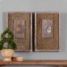 Endicott Wood Wall Decor, S/2 Product Image