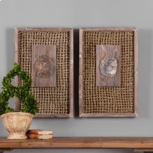 Endicott Wood Wall Decor, S/2