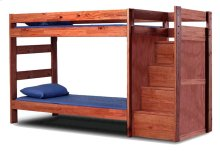 Twin/Twin Staircase Bunk Bed w/o Staircase Drawers