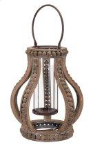Akiko Large Wooden Lantern Product Image