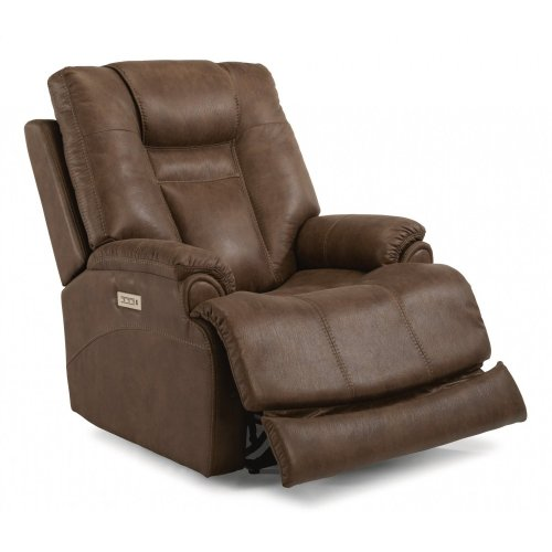 Marley Fabric Power Recliner with Power Headrest