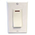 Pilot Light Switch - White Product Image