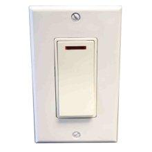 Pilot Light Switch - Almond