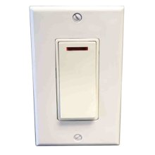 Pilot Light Switch - Almond