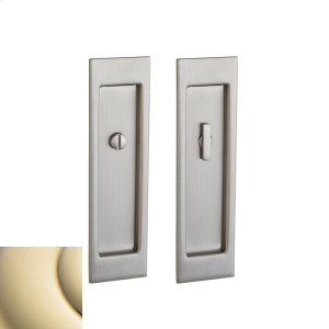 Lifetime Polished Brass PD005 Large Santa Monica Pocket Door Product Image