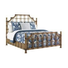 St. Kitts Rattan Bed Queen