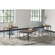 Timber and Tanning Occasional Table Set (3/CN)