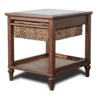 1-Basket End Table Product Image