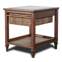 1-Basket End Table