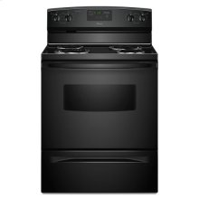 30-inch Amana® Electric Range with Self Clean - black
