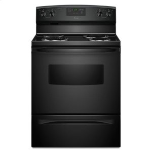Amana30-inch Amana(R) Electric Range with Self Clean - black