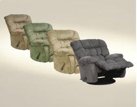 Chaise Swivel Glider Recliner - Hazelnut