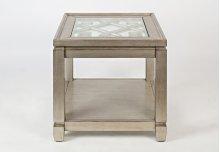 Casa Bella End Table- Vintage Silver