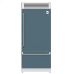 "Hestan36"" Pro Style Bottom Mount, Top Compressor Refrigerator - KRP Series - Pacific-fog"