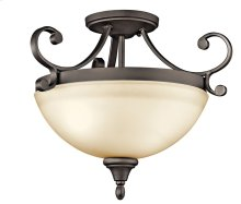 Monroe 2 Light Semi Flush Olde Bronze®