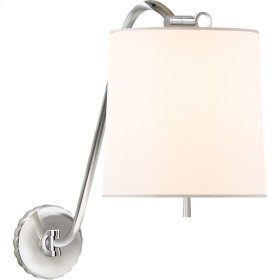 Visual Comfort BBL2010PN-S Barbara Barry Understudy 1 Light 10 inch Polished Nickel Decorative Wall Light