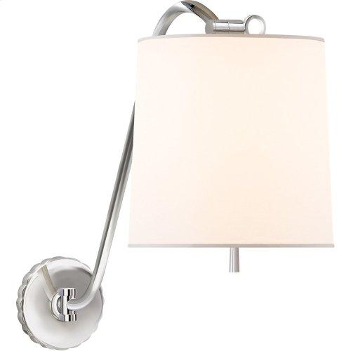 Visual Comfort BBL2010PN-S Barbara Barry Understudy 1 Light 10 inch Polished Nickel Decorative Wall Light