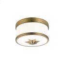 Flush Mount - Aged Brass Product Image