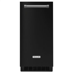 KitchenAid Kitchenaid® 15'' Automatic Ice Maker - Black