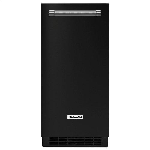 KitchenAid® 15'' Automatic Ice Maker - Black