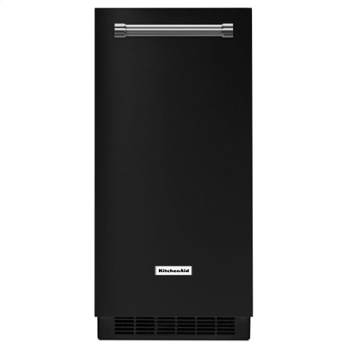 KitchenAid® 15'' Automatic Ice Maker - Black