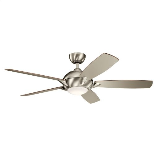 """Geno LED 54"""" Fan Brushed Stainless Steel"""