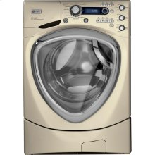 GE Profile 4.3 DOE cu. ft. stainless steel capacity frontload washer with Steam
