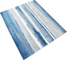 Azure Watercolor Rug 8x10