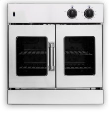 "30"" Legacy French Door Single Deck Wall Oven - Gas or Electric"