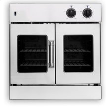 """30"""" Legacy French Door Single Deck Wall Oven - Gas or Electric"""