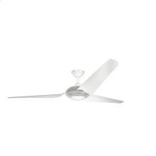Voya Collection 84 Inch Voya Fan WHT