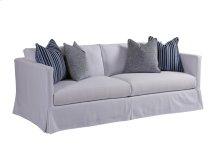 Marina Slipcover Apt Sofa - White