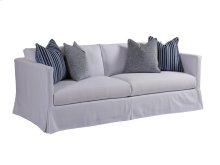 Marina White Slipcover Sofa