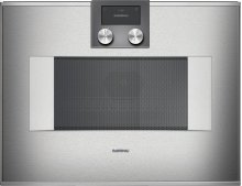 """400 series speed microwave oven BM 450 710 Stainless steel-backed full glass door Width 24"""" (60 cm) Right-hinged"""