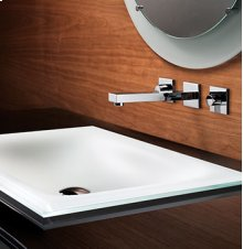 Standard Rectangular Sink without overflow
