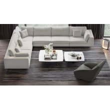 Perry 2 Arm Corner Extended Sofa