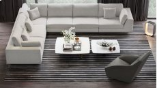 Perry 2 Arm Corner Extended Sofa Product Image