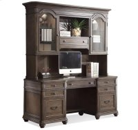 Belmeade Credenza Old World Oak finish Product Image