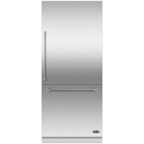 "DCS Activesmart Refrigerator 36"" Integrated Bottom Freezer With Ice - 80"" / 84"" Tall"
