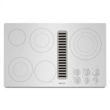 "Jenn-Air® Electric Radiant Downdraft Cooktop, 36"" - White"